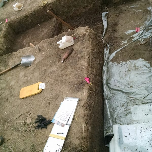 Engineer Cantonment archaeological dig photo